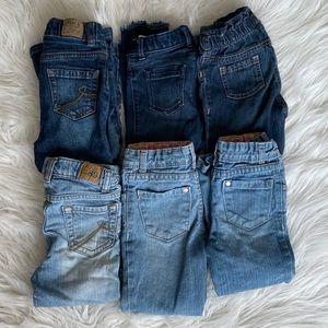 3T Bundle Toddler Girl Jeans EUC